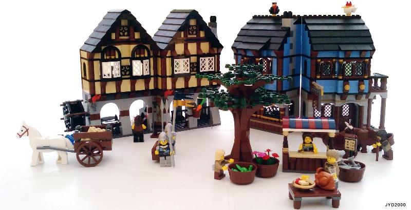 Afficher le sujet - [Review] 10193 Medieval Market Village - review ...
